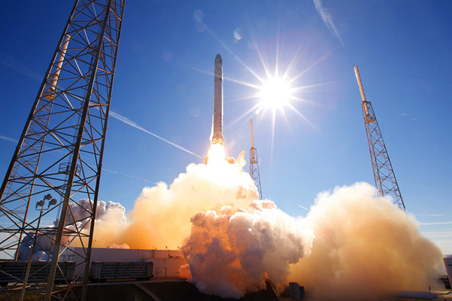 Photographer: Chris Thompson/SpaceX via Bloomber